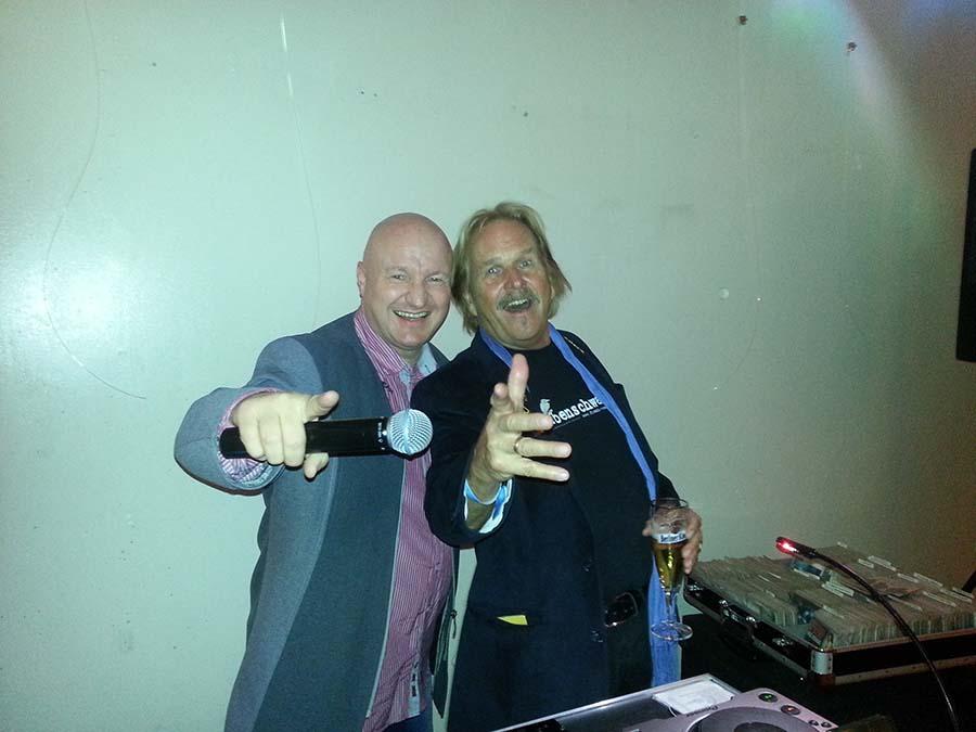 DJ Kiel - Marko Abend - Moderation Frank Zander